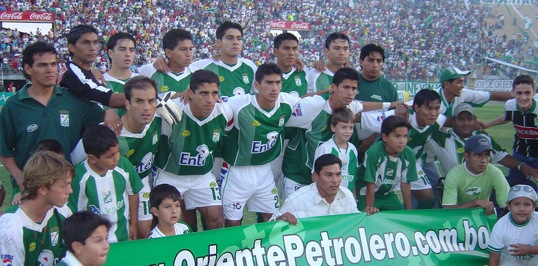 Oriente Petrolero Team Photo